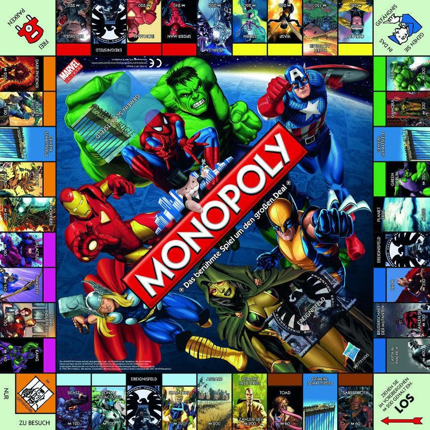 X Men Monopoly 14