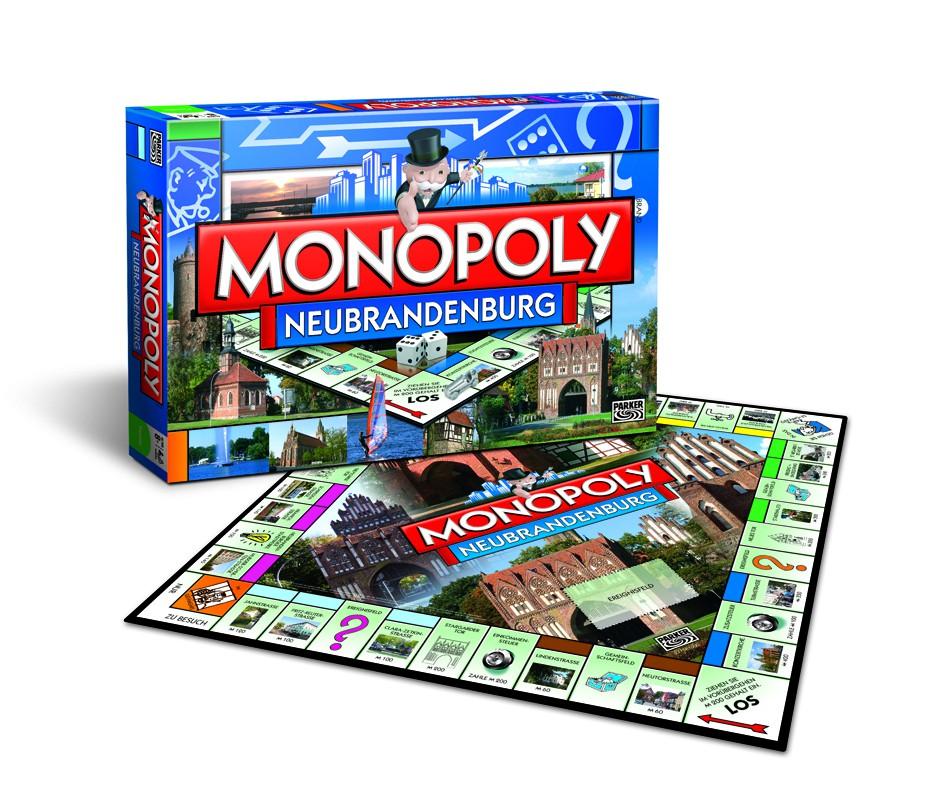monopoly neubrandenburg city edition cityedition stadt brettspiel spiel neu ebay. Black Bedroom Furniture Sets. Home Design Ideas